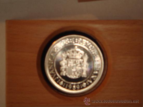 Monedas FNMT: Moneda 5.000 Ptas. plata FNMT - Foto 3 - 26480562