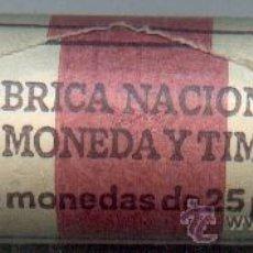 Monedas FNMT: CARTUCHO ORIGINAL DE LA F.N.M.T. 40 MONEDAS DE 25 PESETAS AÑO 1984. Lote 27613739
