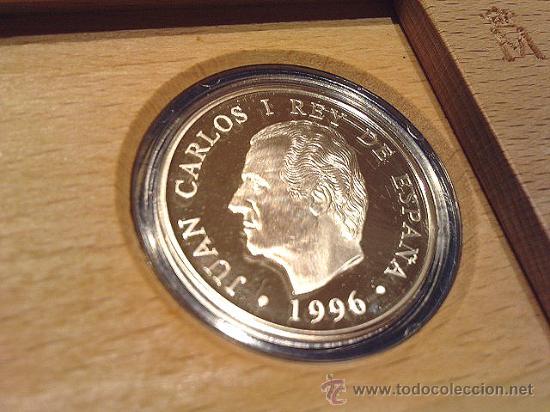 Monedas FNMT: Caja denominación Proof de la F.N.M.T. Juegos Paralímpicos 1996 Perfecta, ver fotos. - Foto 2 - 26062873