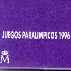 Monedas FNMT: .MONEDA FNMT ESPAÑA 1996 ESTUCHE PROOF 1000P PLATA, JUEGOS PARALIMPICOS DE ATLANTA, NATACION. Lote 207862088