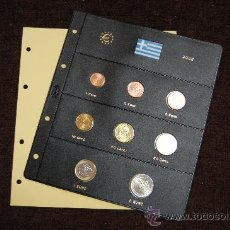 Monedas FNMT: SERIE EUROS GRECIA 2002. Lote 26181318