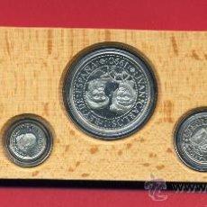 Monedas FNMT: MONEDAS COLECCION QUINTO 5º CENTENARIO 1990 , 5 VALORES PLATA, ORIGINALES, 2ª SERIE. Lote 27069195