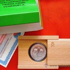 Monedas FNMT: MONEDA FNMT 1998 SERIE 500 ANIVERSARIO DESCUBRIMIENTO TIERRA FIRME. VENEZUELA. FACIAL 3 EUROS. Lote 27189072