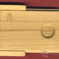 Monedas FNMT: ESTUCHE MONEDA PLATA 2000 PESETAS 2000, XXV ANIVERSARIO PROCLAMACION, ORIGINAL, LEER DESCRIPCION. Lote 27650649