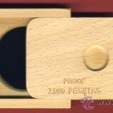 Monedas FNMT: ESTUCHE MONEDA PLATA 2000 PESETAS 1991 PROOF, OLIMPIADA BARCELONA TENIS , ORIGINAL, LEER DESCRIPCION. Lote 27650725
