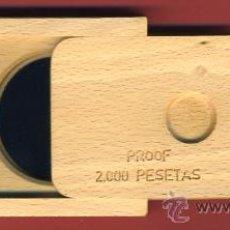 Monedas FNMT: ESTUCHE MONEDA PLATA 2000 PESETAS 1991 PROOF, OLIMPIADA BARCELONA , BOLOS, ORIGINAL LEER DESCRIPCION. Lote 27650766