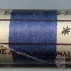 Monedas FNMT: CARTUCHO ORIGINAL DE LA F.N.M.T. ESTADO ESPAÑOL.FRANCISCO FRANCO .MONEDAS DE 5 PESETAS AÑO 1957*71. Lote 28906186