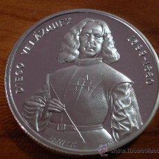 Monedas FNMT: MONEDA MEDALLA PLATA DIEGO VELAZQUEZ LA RENDICION DE BREDA AG 999 2 AZ 62,3 GRAMOS. Lote 128835595