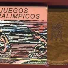 Monedas FNMT: ESTUCHE , SET , JUEGOS PARALIMPICOS 2000 , 1000 PESETAS PLATA, ATLETISMO SILLA RUEDAS, ORIGINAL. Lote 30085265
