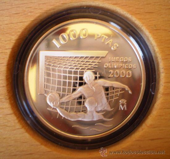 1000 PESETAS 1999 JUEGOS OLIMPICOS 2000 VER FOTOS (Numismática - España Modernas y Contemporáneas - FNMT)