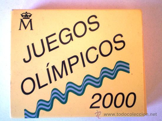 Monedas FNMT: 1000 Pesetas 1999 Juegos Olimpicos 2000 Ver Fotos - Foto 5 - 30747163