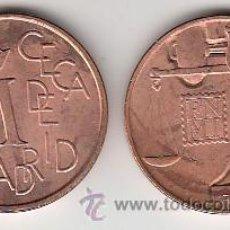 Monedas FNMT: .MEDALLA CONMEMORATIVA EN COBRE FNMT CECA DE MADRID. Lote 52327519
