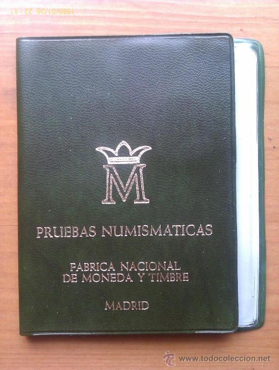 CARTERA OFICIAL JUAN CARLOS I. 1977. ESPAÑA. PROOF. 3 VALORES EN PRUEBA. (Numismática - España Modernas y Contemporáneas - FNMT)