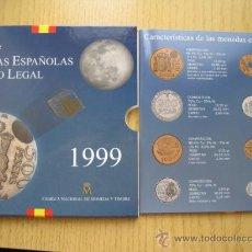 Monedas FNMT: TODAS LAS MONEDAS DE PESETA ESTUCHES FNMT DE 1992 / 1993 / 1994 / 1995 / 1996 / 1997 / 1998 Y 1999. Lote 34668454