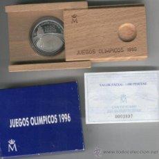Monedas FNMT: INVIERTA EN MONEDA DE PLATA PROOF ESPAÑA JUEGOS OLIMPICOS 1996. AÑO 1995 1000 PESETAS PLATA.......... Lote 35594483