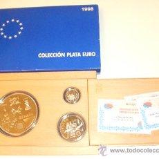 Monedas FNMT: INVIERTA EN MONEDAS DE PLATA ESPAÑA PROOF COLECCION COMPLETA PLATA EURO AÑO 1998 OPORTUNIDAD. Lote 35624583