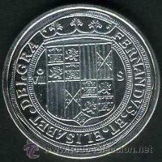 Monedas FNMT: 8 REALES PLATA SIN FECHA DE REYES CATOLICOS SC LEER DENTRO DESCRIPCION - Nº4. Lote 109439632