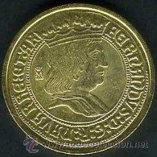 Monedas FNMT: 4 ESCUDOS ORO SIN FECHA DE FERNANDO II SC LEER DENTRO DESCRIPCION - Nº6. Lote 130097576