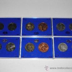 Monedas FNMT: DOS CONJUNTOSDE MONEDAS DE 500 QUINIENTAS PESETAS DE PLATA FNMT.. Lote 35999587