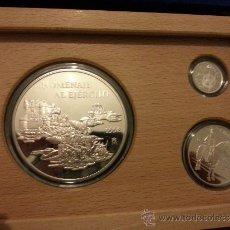 Monedas FNMT: FNMT COLECCIÓN PLATA EURO 1998 HOMENAJE AL EJÉRCITO. ESTUCHE COMPLETO. Lote 36361137