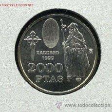 Monedas FNMT: 2000 PTAS PLATA: XACOBEO'99 SANTIAGO.GALICIA. Lote 37503754
