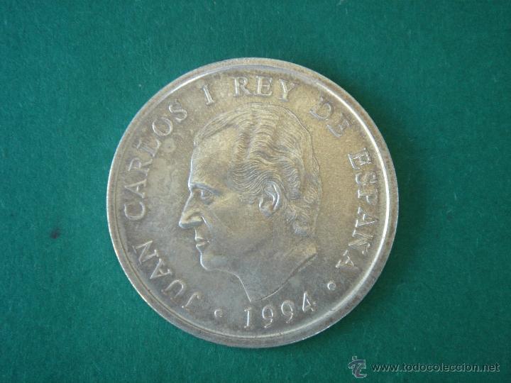 2000 PESETAS DE 1994 EN PLATA JUAN CARLOS I. ASAMBLEA FMI MADRID. MBC+ (Numismática - España Modernas y Contemporáneas - FNMT)