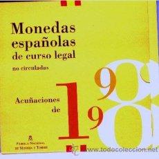 Monedas FNMT: ESPAÑA. 1998 MONEDAS REY EN CARTERA OFICIAL FNMT PROOF (8 MONEDAS).. Lote 41361807