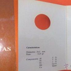 Monedas FNMT: 100 PESETAS PRUEBA NUMISMATICA MUY BONITA PRESENTACION. Lote 41477895