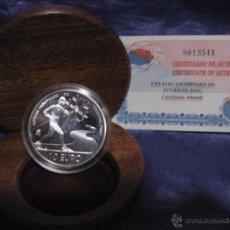 Monedas FNMT: JUEGOS OLIMPICOS DE INVIERNO 2002. Lote 41975910