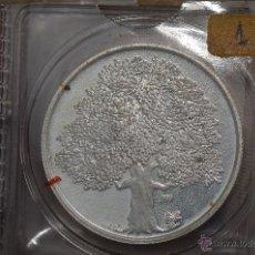 Monedas FNMT: MONEDA PURA DE PLATA DE 999, DE UNA ONZA TROY.MODELO ARBOL. Lote 121196387