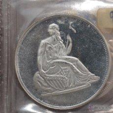 Monedas FNMT: MONEDA PURA DE PLATA DE 999, DE UNA ONZA TROY.MODELO LIBERTY. Lote 42722468