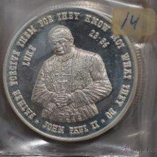 Monedas FNMT: MONEDA PURA DE PLATA DE 999, DE UNA ONZA TROY.MODELO J.PABLO II. Lote 42722752