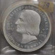 Monedas FNMT: MONEDA PURA DE PLATA DE 999, DE UNA ONZA TROY.MODELO CRISTOPHER COLUMBUS. Lote 42722985