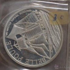 Monedas FNMT: MONEDA PURA DE PLATA DE 999, DE UNA ONZA TROY.MODELO BELLE POULE. Lote 42766601