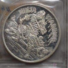 Monedas FNMT: MONEDA PURA DE PLATA DE 999, DE UNA ONZA TROY.MODELO NINJA WARRIOR CHINA. Lote 42766851