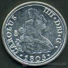 Monedas FNMT: 8 REALES PLATA 1805 DE CARLOS IV SC LEER DENTRO DESCRIPCION - Nº1. Lote 109440311
