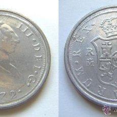 Monedas FNMT: 8 REALES PLATA 1772 DE CARLOS III SC CALIDAD PROOF LEER DENTRO - Nº3. Lote 112939975