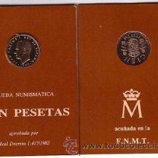 Monedas FNMT: ESPAÑA CARTERITA OFICIAL 100 PESETAS 1982 PROOF FNMT ****NUMISBUR. Lote 45360188