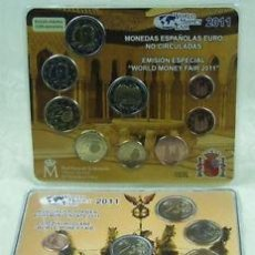 Monedas FNMT: ESPAÑA SET OFICIAL EUROS WORLD MONEY FAIR BERLIN 2011 ****NUMISBUR***. Lote 48764640