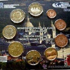 Monedas FNMT: ESPAÑA SET OFICIAL EUROS WORLD MONEY FAIR BERLIN 2013 ****NUMISBUR***. Lote 48764625