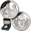 Monedas FNMT: ESPAÑA 10 EUROS PLATA 2014 VAN DYCK - SERIE TESOROS MUSEOS ESPAÑOLES 8 REALES *NUMISBUR*. Lote 160144436