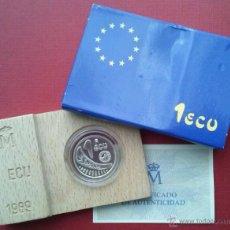 Monedas FNMT: MONEDA ESPAÑA - 1 ECU - 1989 JUAN CARLOS I - EUROPA RAPTADA POR ZEUS (RAPTO DE EUROPA). Lote 45106782