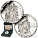 Monedas FNMT: ESPAÑA 10 EURO PLATA 2014 EL GRECO SERIE TESOROS MUSEOS ESPAÑOLES 8 REALES *NUMISBUR*. Lote 160144454
