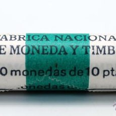 Monedas FNMT: CARTUCHO 40 MONEDAS 10 PESETAS FNMT 1984. Lote 213244990