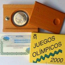 Monedas FNMT: MONEDA 1.000 PESETAS ACUÑADA EN PLATA PROOF AÑO 1999 JUEGOS OLÍMPICOS SIDNEY 2000. Lote 207292095