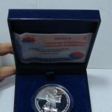 Monedas FNMT: ESTUCHE CON MONEDA CONMEMORATIVA DE 10 €. IV CENTENARIO DE EL QUIJOTE. PLATA .925 MLS.. Lote 46895657