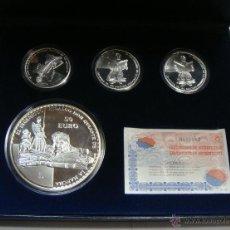 Monedas FNMT: COLECCIÓN DE MONEDAS O MEDALLAS DE EL QUIJOTE. 2005. PLATA. CON ESTUCHE, CERTIFICADO Y ENCAPSULADAS.. Lote 46895916
