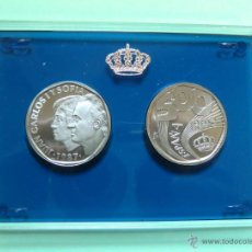 Monedas FNMT: 500 PESETAS 1987 MADRID, PRUEBA ACERO SIN CIRCULAR. Lote 47234769