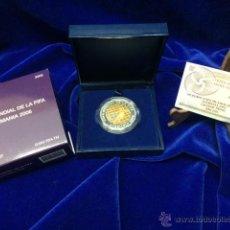 Monedas FNMT: MONEDA BIMETALICA COPA MUNDIAL DE LA FIFA. ALEMANIA 2006. Lote 48349393