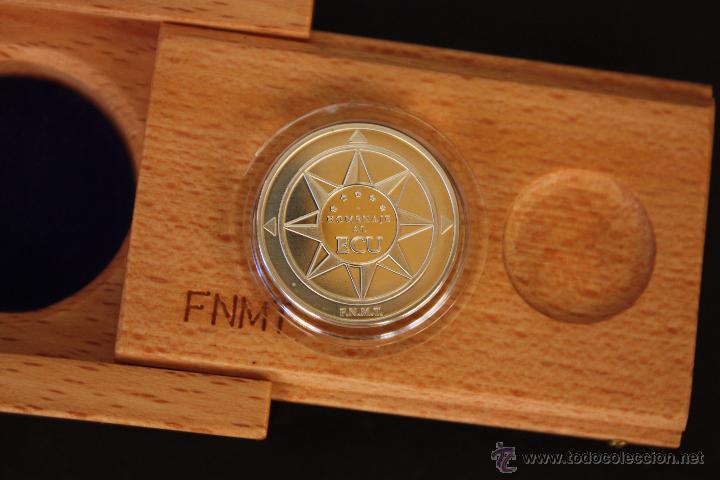 MONEDA HOMENAJE AL ECU (Numismática - España Modernas y Contemporáneas - FNMT)